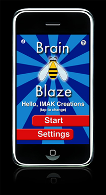 Brain Blaze Spelling screenshot