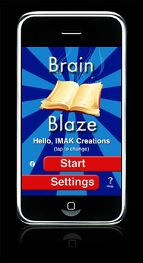 Brain Blaze Vocabulary screenshot